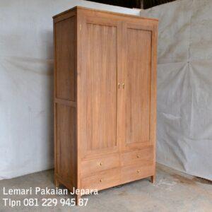 Lemari-Pakaian-2-Pintu-Kayu